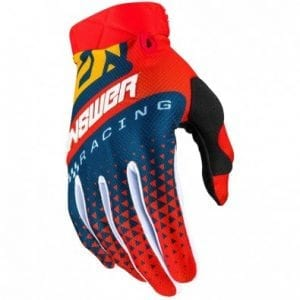 Guantes Answer Ar3 Korza – Red/Midnight/Yellow