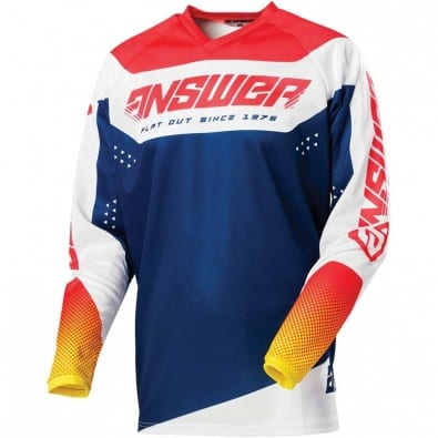 Jersey Answer Syncron Charge Air Pink - Pro Yellow - Mid